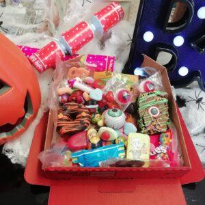 Kids halloween treat box