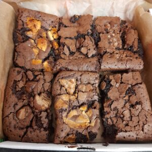Gooey Brownie Box-Dispatched every Wednesday for arrival Thurs/Fri