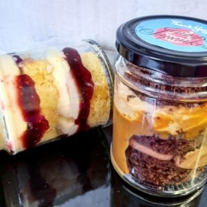 Cake Jars-Collection or Delivery Available-Delivery dispatched on Wednesday for arrival Thurs/Fri